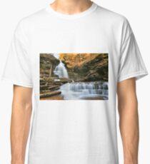 October Evening Below Ozone Falls Classic T-Shirt