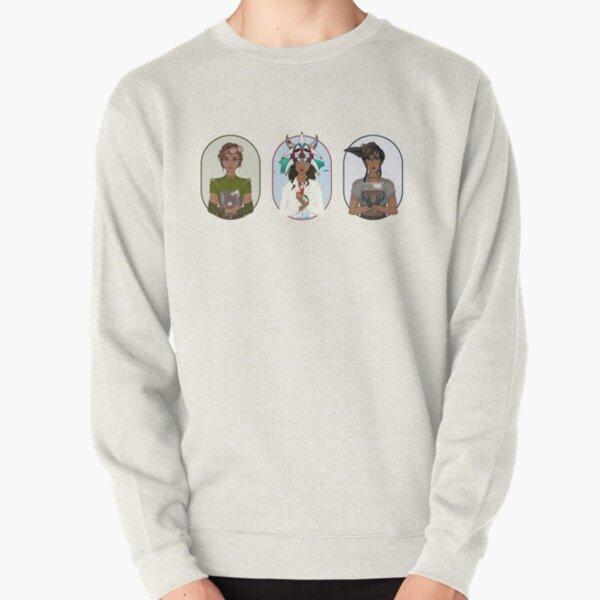 Triptych: Puerto Rican Scientist Pullover Sweatshirt