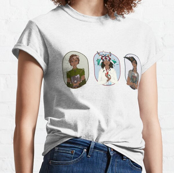 Triptych: Puerto Rican Scientist Classic T-Shirt