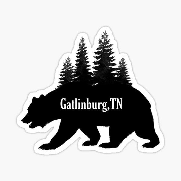 Gatlinburg Sticker  Sticker
