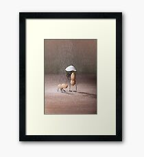 Simple Things - Bad Weather Framed Print