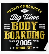 Bodyboarding Extreme Sport  Poster