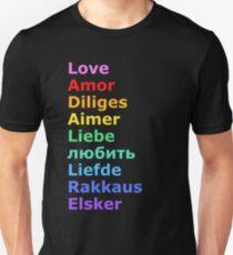 Love (languages) T-Shirt