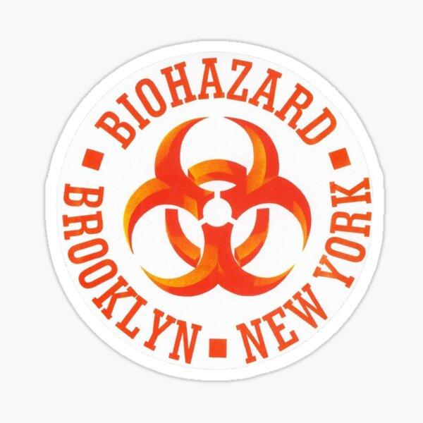 Biohazard - Logo Sticker