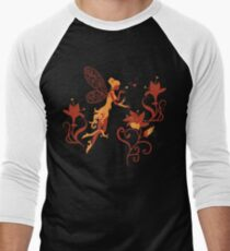 Chocolate Fairy Silhouette with flowers T-Shirt