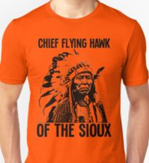 Chief Flying Hawk (of The Sioux) Unisex T-Shirt