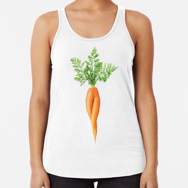 Weird sexy carrot Racerback Tank Top
