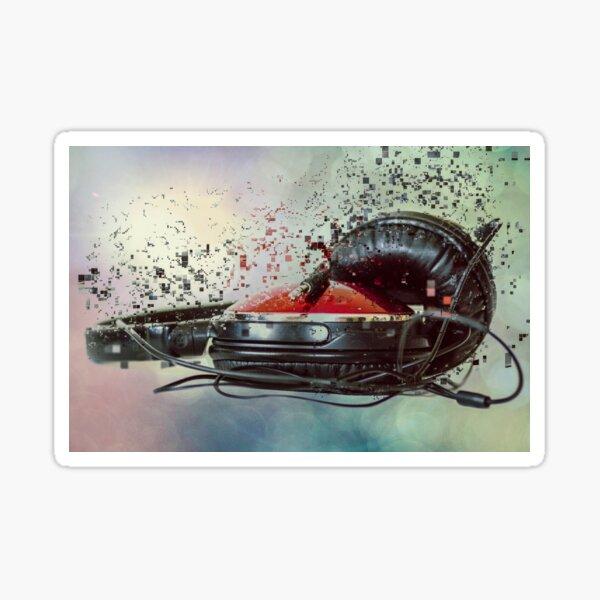 Sound Blast Sticker