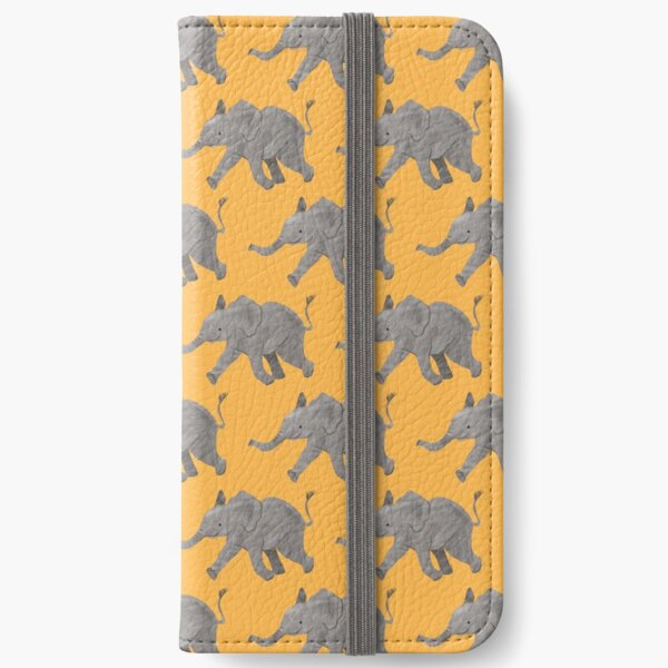 Baby Elephant iPhone Wallet