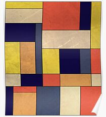 Piet Mondriaan Posters Redbubble