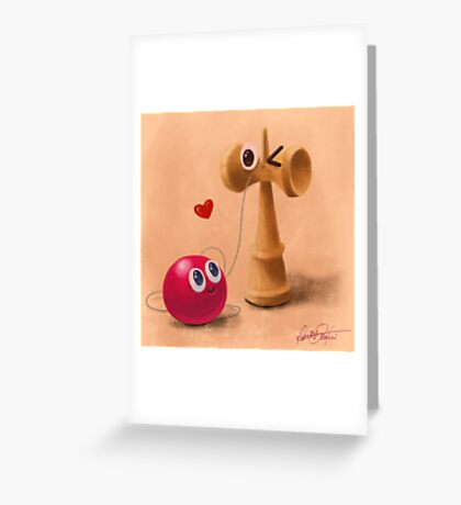 Ken & Dama Greeting Card