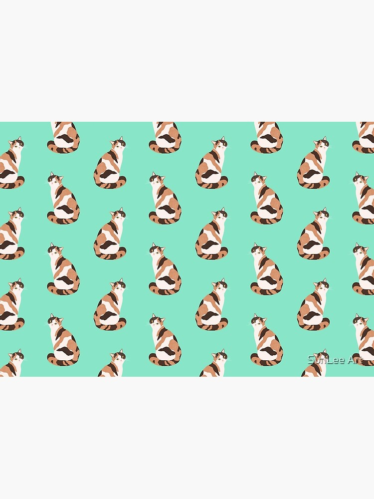 Spotted Cat pattern by sunleeart