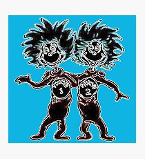 Thing 1 & Thing 2 Photographic Print