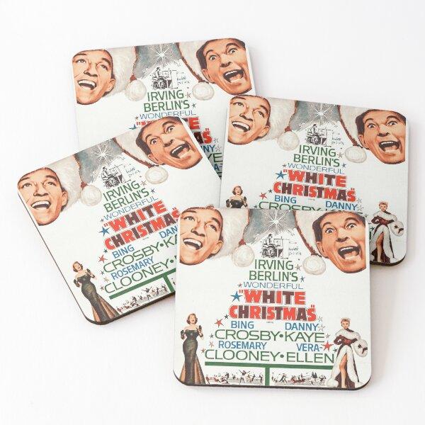 White Christmas - Bing Crosby, Danny Kaye Coasters (Set of 4)