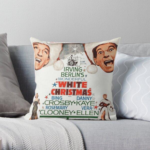 White Christmas - Bing Crosby, Danny Kaye Throw Pillow