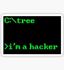 I'm a Hacker Sticker