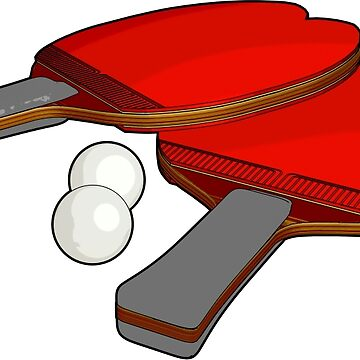 Valentine's ping pong paddles by pdcdec
