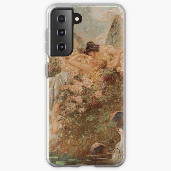 sapphic renaissance painting Samsung Galaxy Soft Case