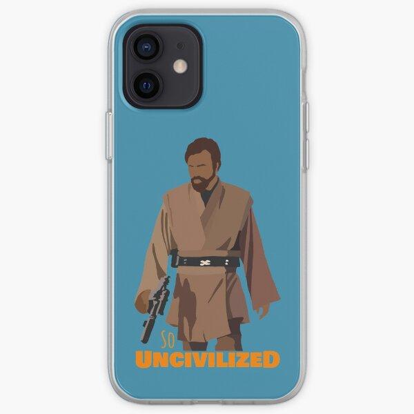 So Uncivilized Obi-Wan  iPhone Soft Case