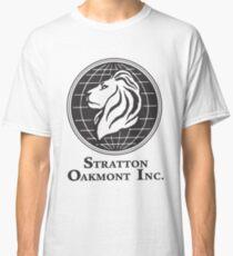 Stratton Oakmont T-Shirt Wolf of Wall Street Tshirt Jordan Belfort Ludes T Shirt Movie Cult Gift Martin Scorsese Him Her Logo Stock Market Classic T-Shirt