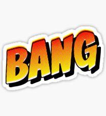 """""""BANG"""" Comic Pop-Art Sticker"""