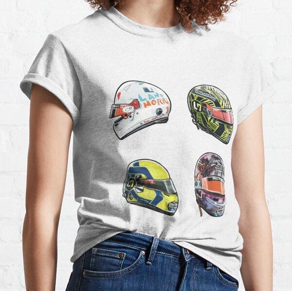 Lando Norris 2020 Helmet Sticker Set Volume 1 Classic T-Shirt