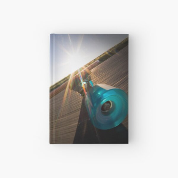 Longboarding Hardcover Journal