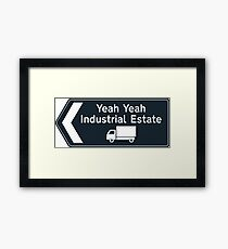 Get Up For Ind Est Framed Print
