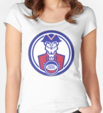 DEFUNCT - VIRGINIA SQUIRES Women's Fitted Scoop T-Shirt