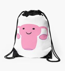 Happy Uterus :) Drawstring Bag