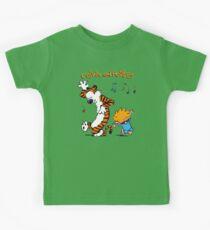 Calvin & Hobbes Dance Kids Tee