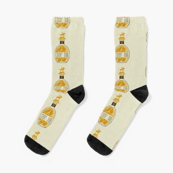 Blanton's Bourbon Sketch Socks