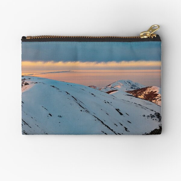 In The Lee Of The Light (Mount Feathertop) Zipper Pouch
