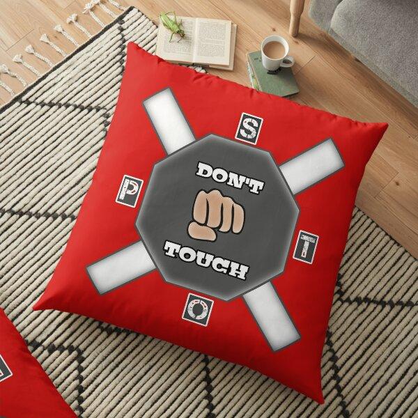 Don't Touch Floor Pillow