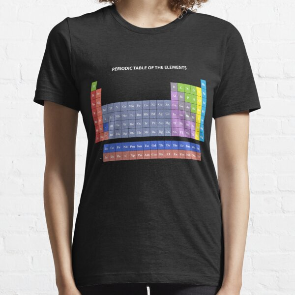 Colorful Periodic table Essential T-Shirt