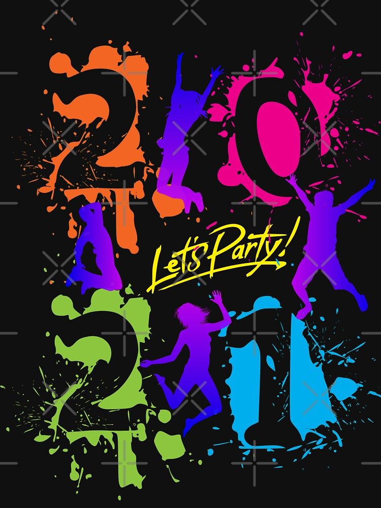 2021 Happy New Year Lets party by mickydee.com by MickyDeeTees
