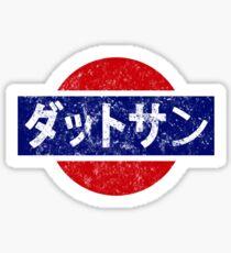 Datsun - retro, Japanese Sticker