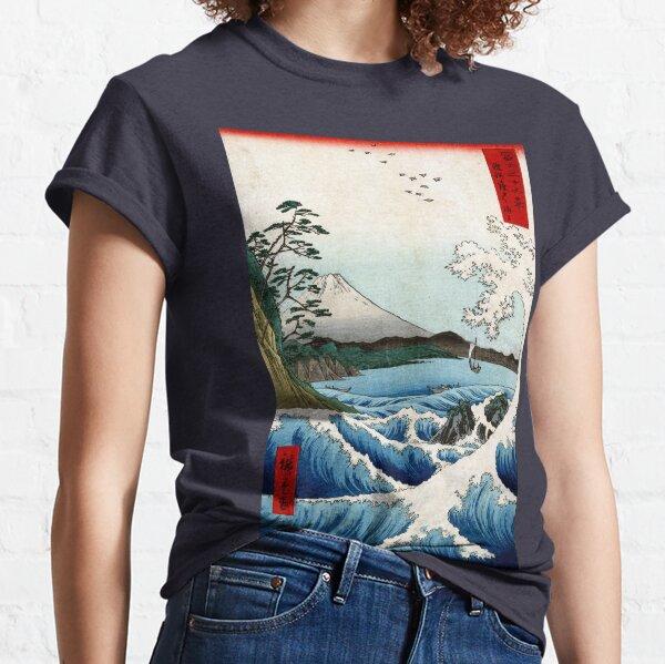 Utagawa Hiroshige The Sea at Satta in Suruga Province Classic T-Shirt