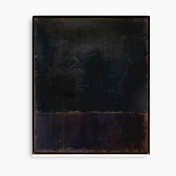 Estilo de pintura negra de Mark Rothko Lienzo