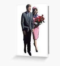 John & Jackie Greeting Card