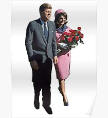 John & Jackie Poster