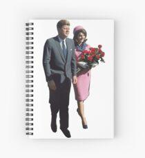 John & Jackie Spiral Notebook