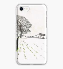 A YORKSHIRE SNOW SCENE iPhone Case/Skin