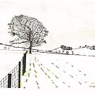 A YORKSHIRE SNOW SCENE by doatley