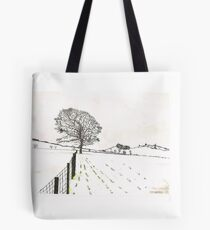 A YORKSHIRE SNOW SCENE Tote Bag