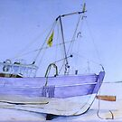 ROGER'S TRAWLER HIGH AND DRY. by doatley