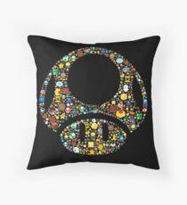 Toad minimalist Throw Pillow