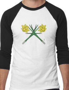 Daffodils Crossed Men's Baseball ¾ T-Shirt