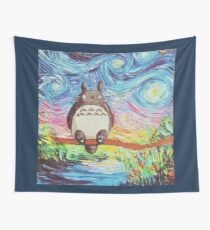 Totoro 3 Wall Tapestry