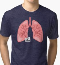 Out of Order Lungs Tri-blend T-Shirt